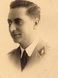Charles Jacques, le papa de T-Bear en 1940