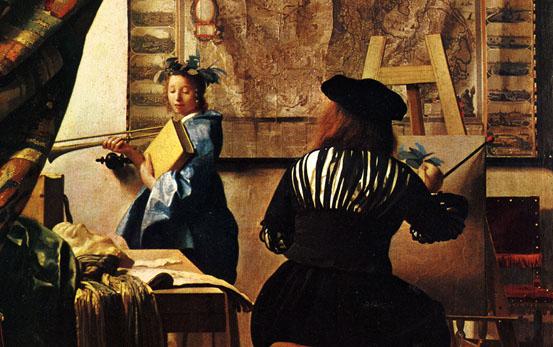 L'art de peindre - Ver Meer