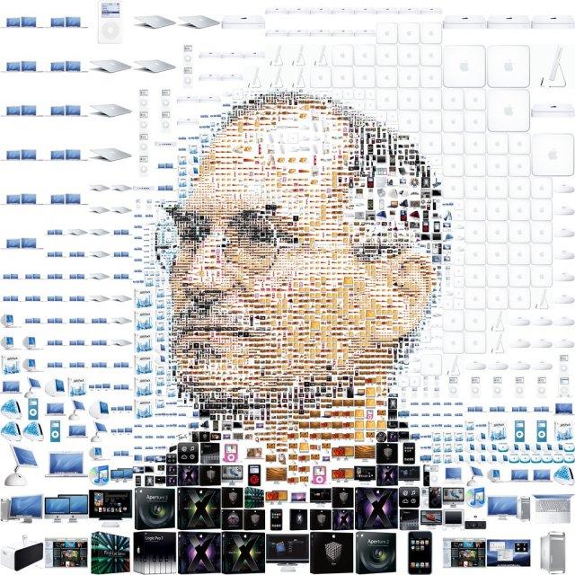 Steve-Jobs-mosaique