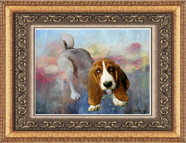 mon portrait peint par T-Bear