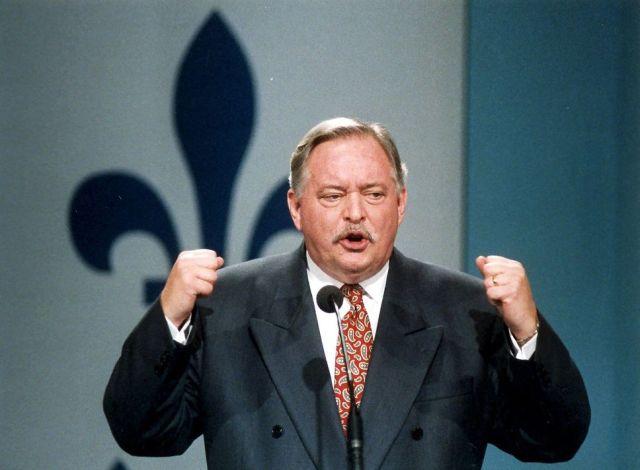 Discours pendant la campagne pour le OUI au référendum de 1995