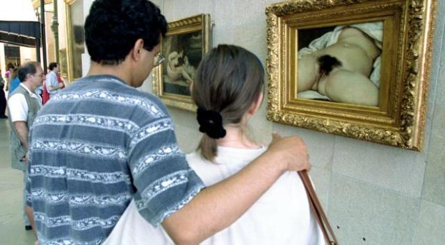 L'origine du monde peint par Gustave Courbet
