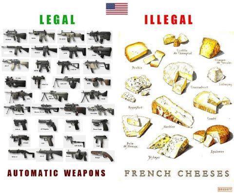 À croire que les fonctionnaires qui ont rendu illégale la vente des fromages français aux USA n'ont goûté exclusivement QUE le fromage CORSE
