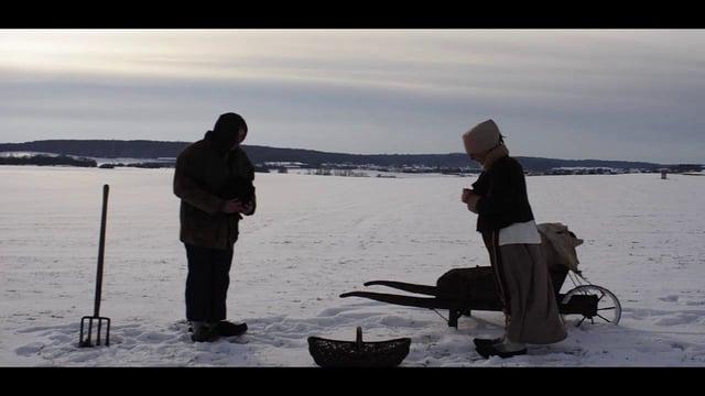 L'angélus au Québec - photo de Thomas Pietrement inspirée du fameux tableau de Millet