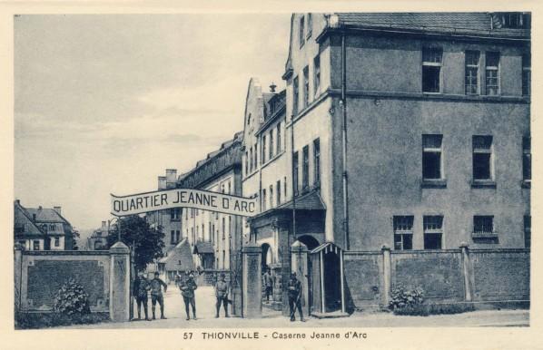 la caserne Jeanne d'Arc 2 ans avant l'incorporation de T-Bear