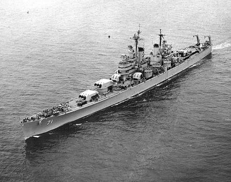 le cuirassé USS Quincy