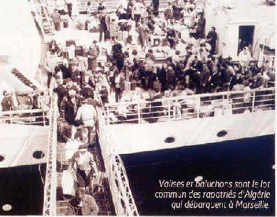 1962 la débâcle française en Algérie grâce en grosse partie au pacte du Quincy