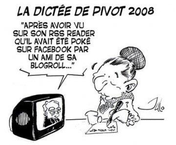 "la dictée de pivot ""new fashion"""