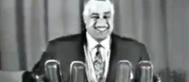 Le fameux éclat de rire de Nasser