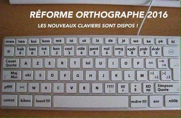nouveau clavier pour sms