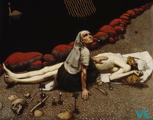 peinture de Akseli Gallen-Kallela