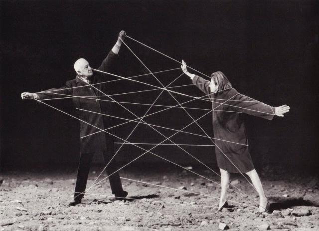 Les liens du mariage - photographie de Gilbert Garcin