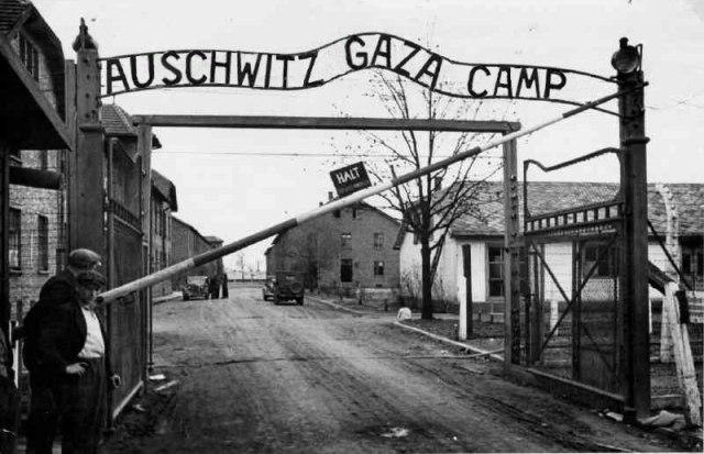 Auschwitz_gaza