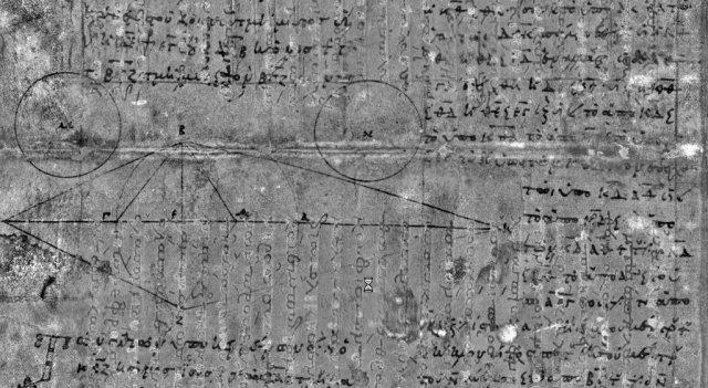 le célèbre palimpseste d'Archimède