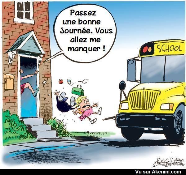 école vacance des parents