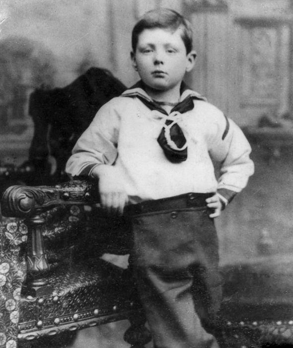 Churchill enfant était un cancre