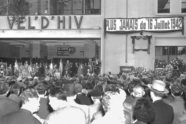En mémoire de la rafle du Vél'd'Hive en 1942. La mémoire est une faculté qui s'oublie vite.
