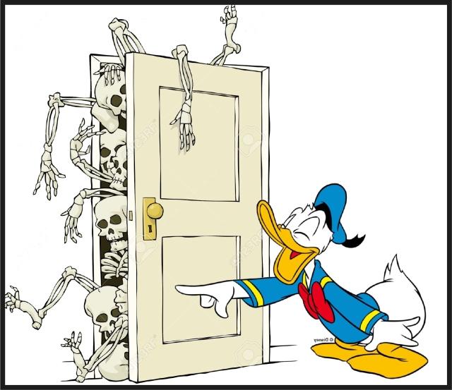 Donald squelettes