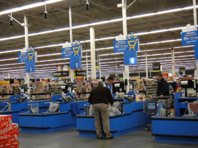 Walmart-checkout